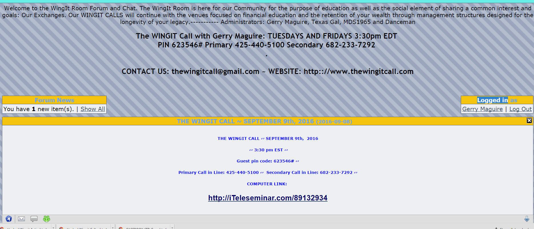 Wingit Call Hacked? Wingit-activeboard-gerry-maguire-login