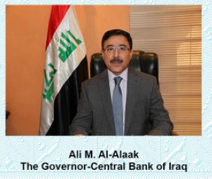 central bank of iraq governor al-alaak