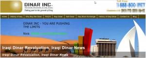 dinar inc iraqi dinar revaluation