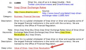 dinarinc currency profile page