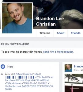 Brandon Lee Christian